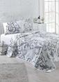 Eponj Home Tek Kişilik Yatak Örtüsü Beyaz
